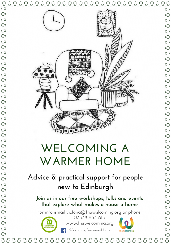 Welcoming a Warmer Home flyer