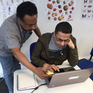 Saad, Digital Skills tutor