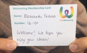 Welcoming Membership Card