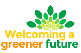 Welcoming a Greener Future logo