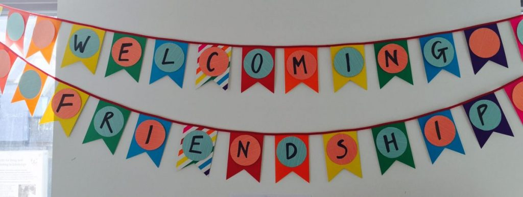 Welcoming Friendship banner
