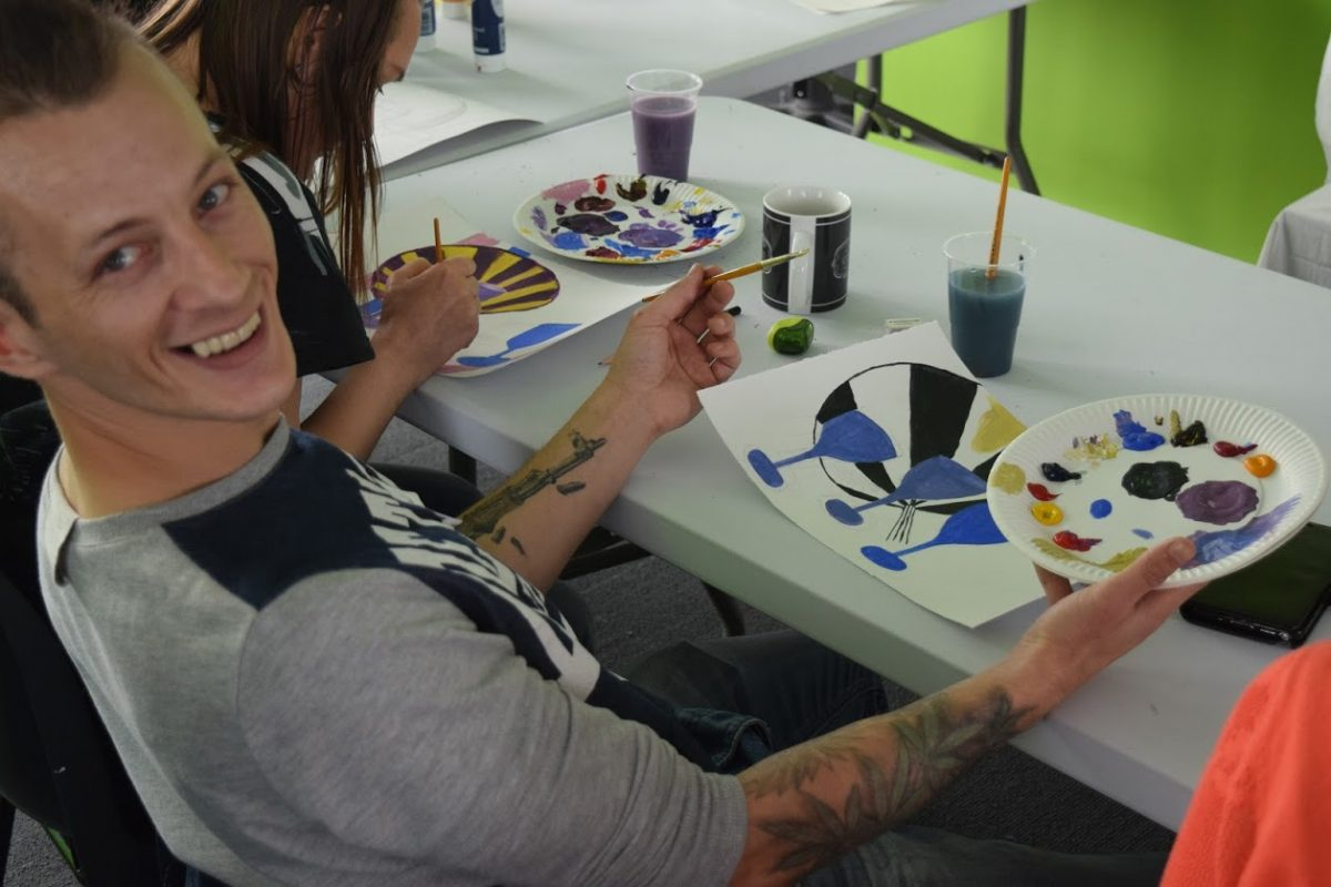 Art workshop at Creative Space