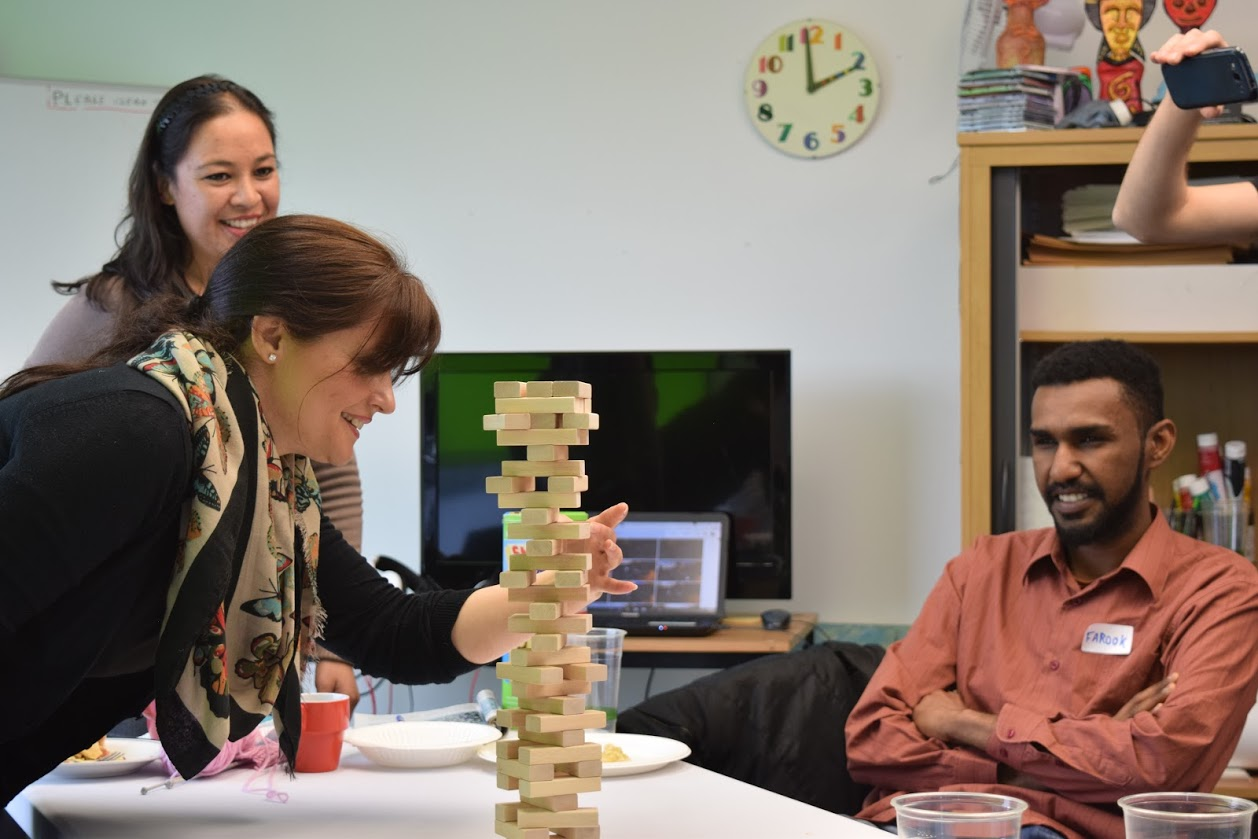 Jenga at Creative Space