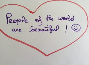 People of the world are beautiful!